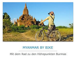 Myanmar Fahrradreisen
