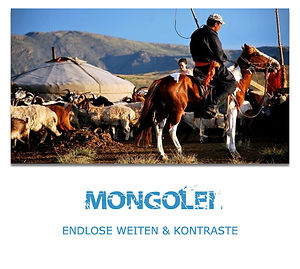 Mongolei Private Rundreisen