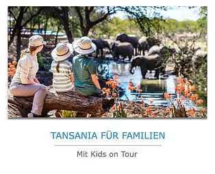 Tansania Familien Safari