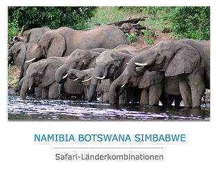 Privatreise nach Namibia Botswana Simbabwe
