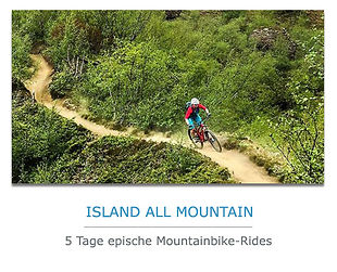 5 TAge Island All-Mountain Radreise