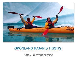 Groenland Kajakreise
