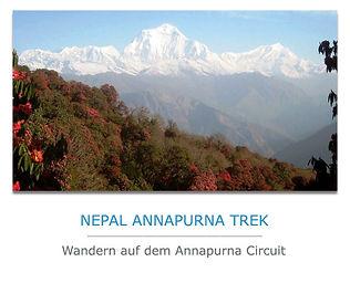 Nepal Trekkingreise zur Annapurna
