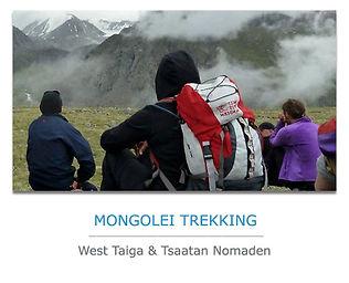 Mongolei Trekkingreisen