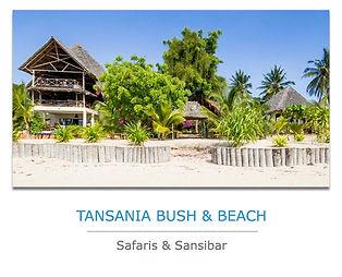Tansania Private Safari mit Sansibar Urlaub
