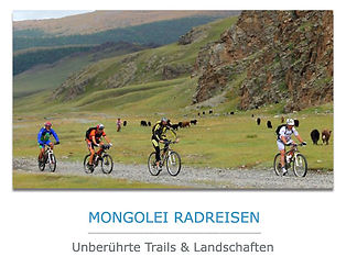 Mongolei Radreisen