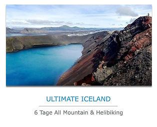 Island Reisen Helibiking