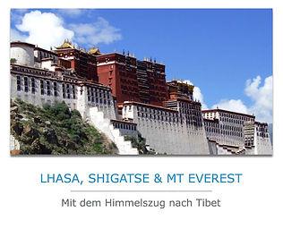 Privatreise nach Tibet und Mount Everest