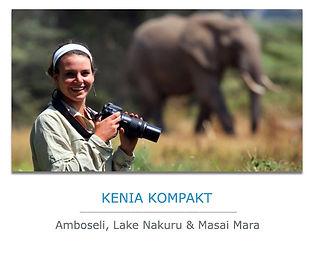 Kenia Kompakt Safari