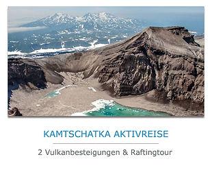 Kamtschatka Aktivreise mit Vulkanbesteigung