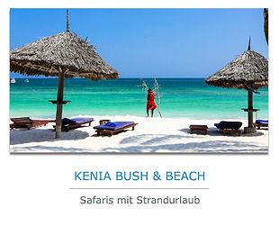 Kenia Safaris mit Strandurlaub