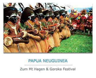 Papua Neuguinea Privatreise mit Festival