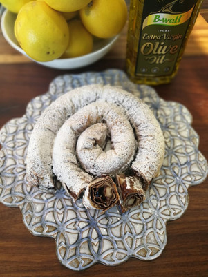 Moroccan Almond and Chocolate Snake