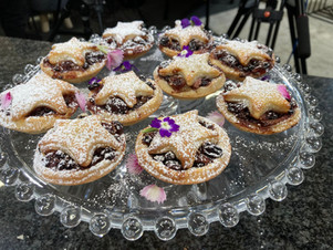 Port and Cranberry Mince Pies
