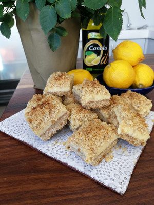 Lemon Oat Blocks