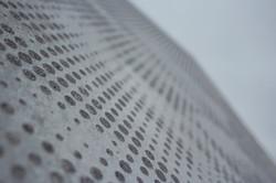 Graphic Concrete Closeup