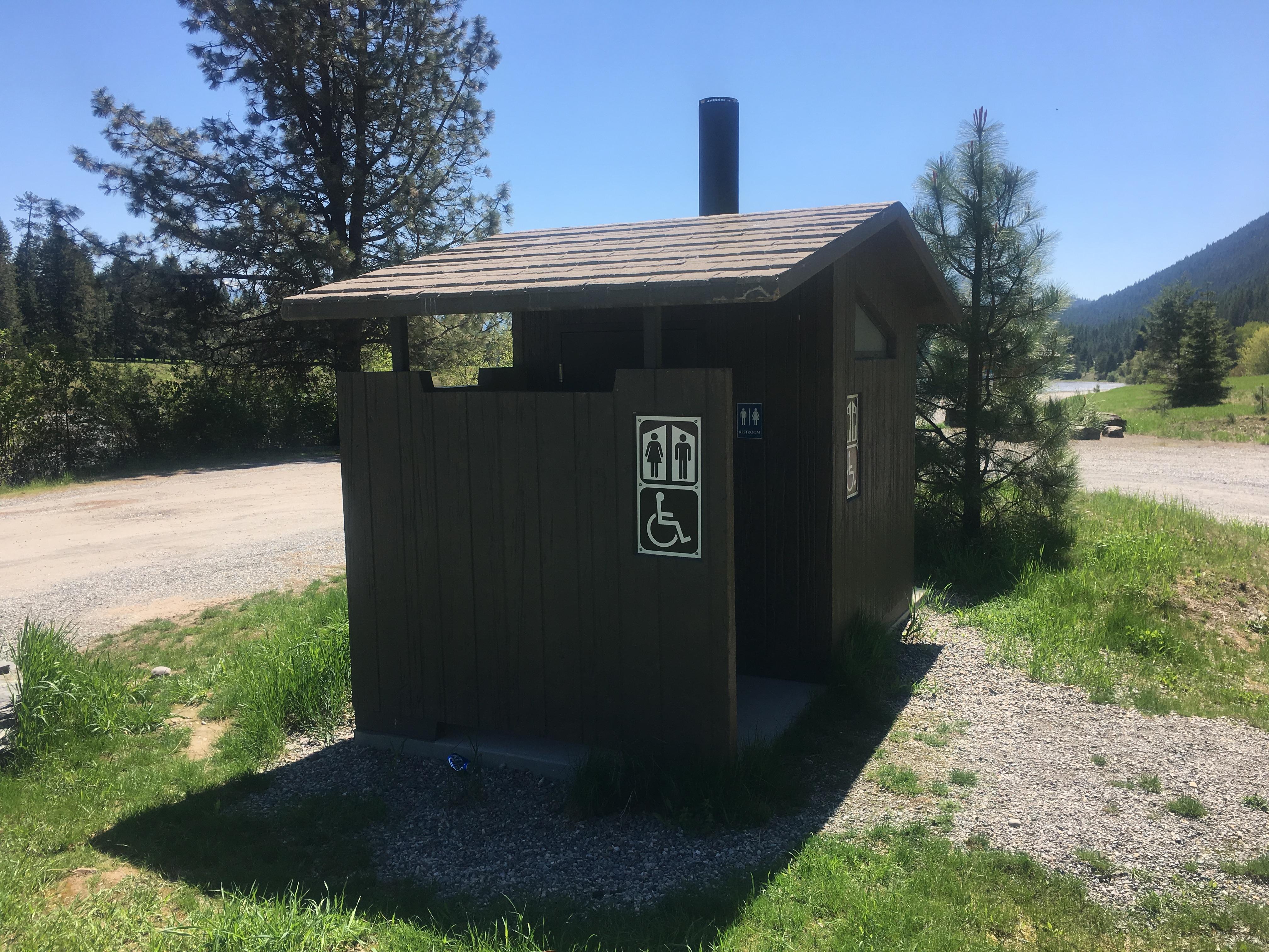 Aspen Barnwood Vault Toilet