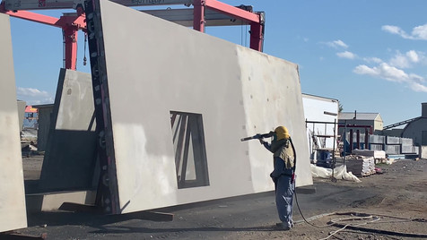 Sandblasting Panels