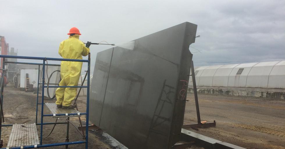 Acid-Washed Panel