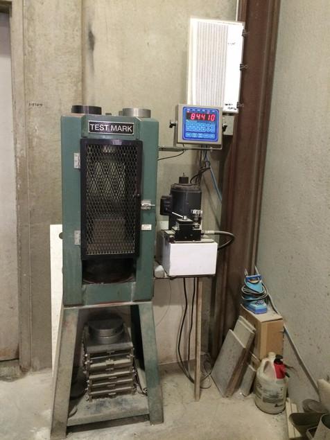 Cylinder Crushing/Testing