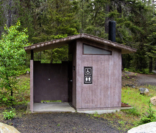 Vault Toilet - Aspen