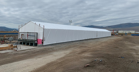Roll-Back Production Tent Exterior