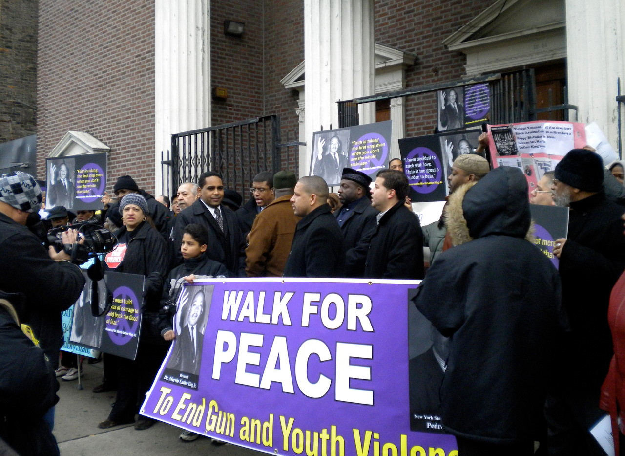 SOY WALK FOR PEACE RALLY