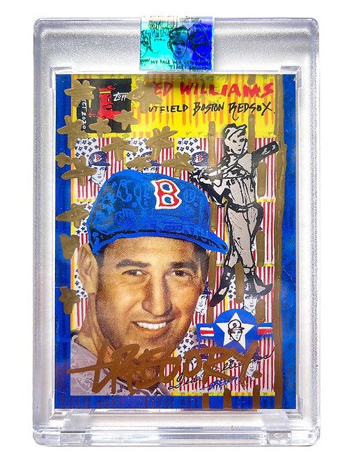 1954 Ted Williams by Gregory Siff - Gold Auto /1