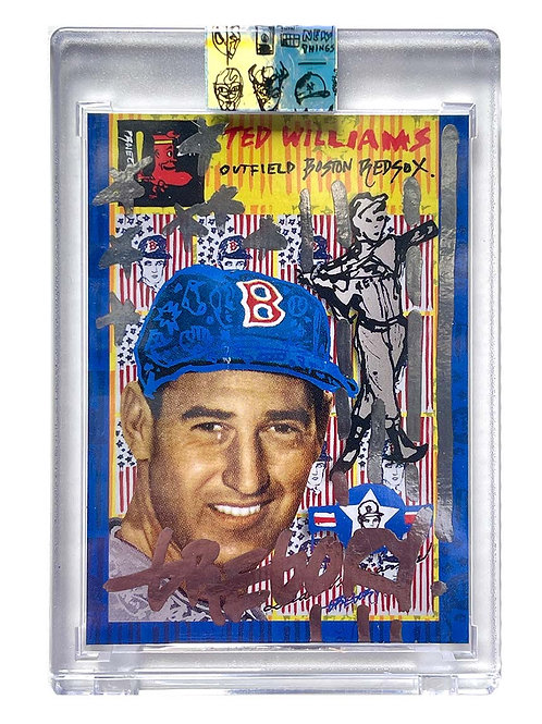 1954 Ted Williams by Gregory Siff - Chrome Auto /1