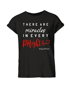 Preslee's Black Miracles T-Shirt (Adults)
