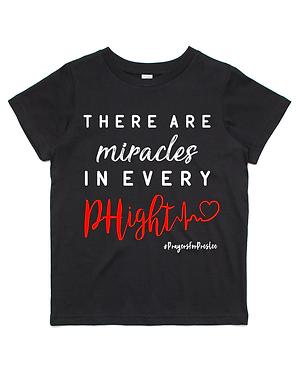 Preslee's Black Miracles T-Shirt (Kids)