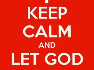 Let God be God!