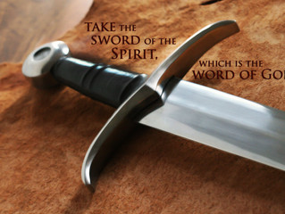 Open Your Mouth and Use Your Sword!