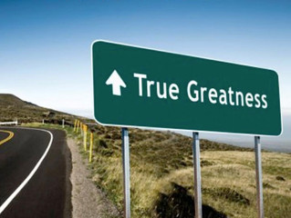 True Greatness is Self Announcing!