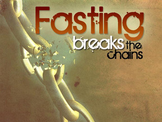 Your Fasting is Removing Things, and Getting Things Moving!