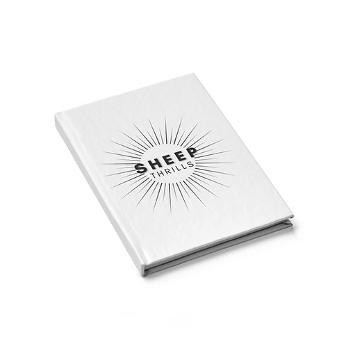 Sheep Thrills Journal - Blank Pages