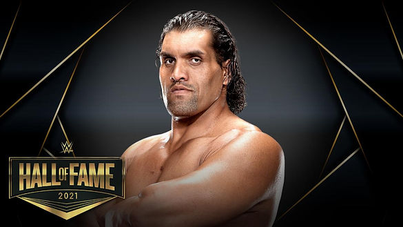 Hall of Fame 2021 The Great Khali Cloubi