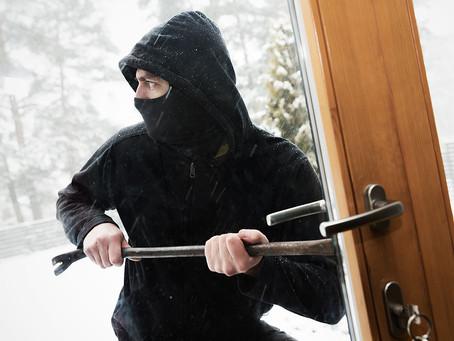 Police Warn Of Post-Lockdown Burglary Rise