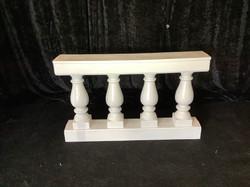 White Banister