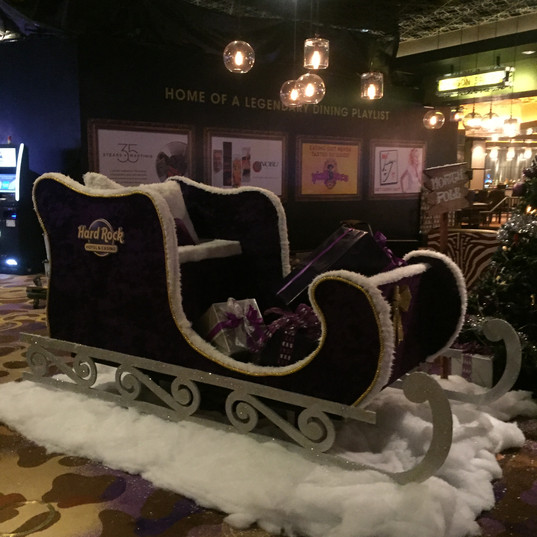 Oversized sled that can be customized.