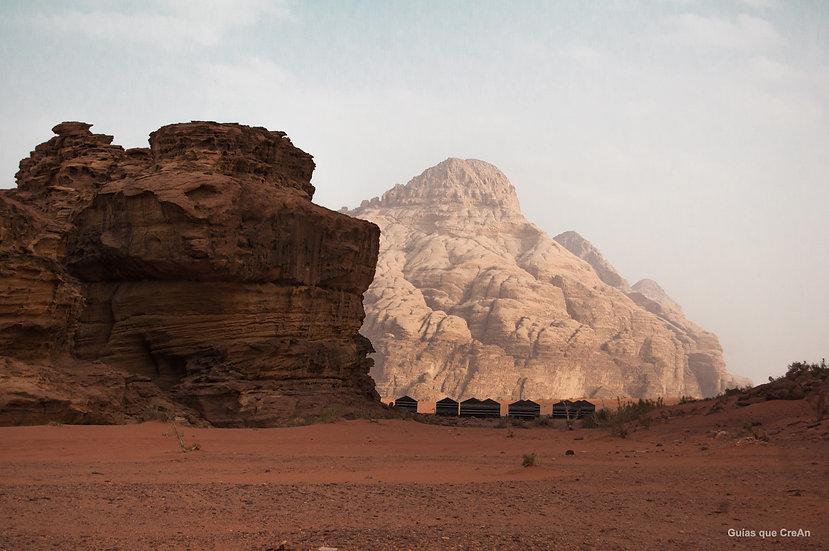 """Paisaje"" Wadi Rum, Jordania  Autor Kike Gadea"