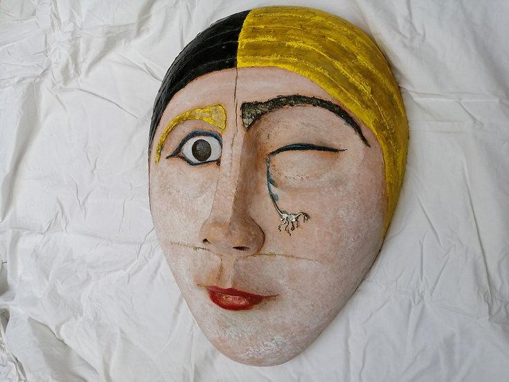 """""""Her"""" Barro cocido pintado Autora Cristina Alcoba Castillo"""
