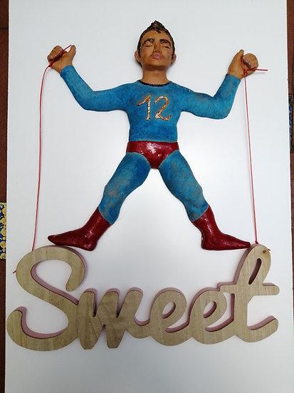 """""""Sweet""""  39x36cm Barro cocido    Cristina Alcoba Castillo"""