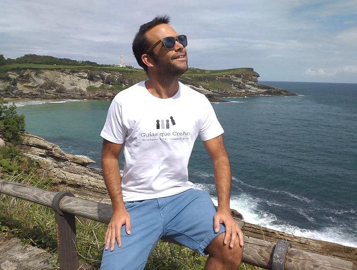 "Camiseta ""Guías que CreAn"" CHICO"