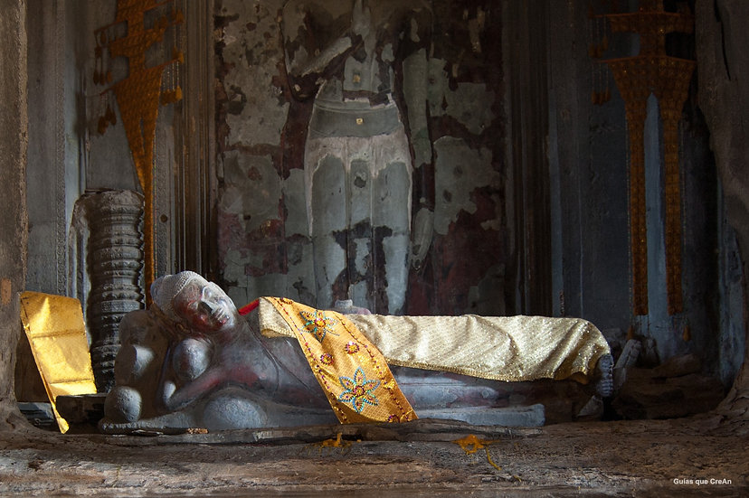 """Buda tumbado"" Camboya Autor Kike Gadea"
