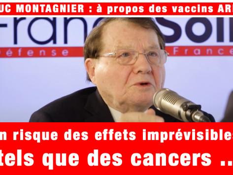 """NOUVEAU TYPE DE VACCIN ARN COVID : """"ON RISQUE DES EFFETS IMPRÉVISIBLES TELS QUE DES CANCERS ..."""""""