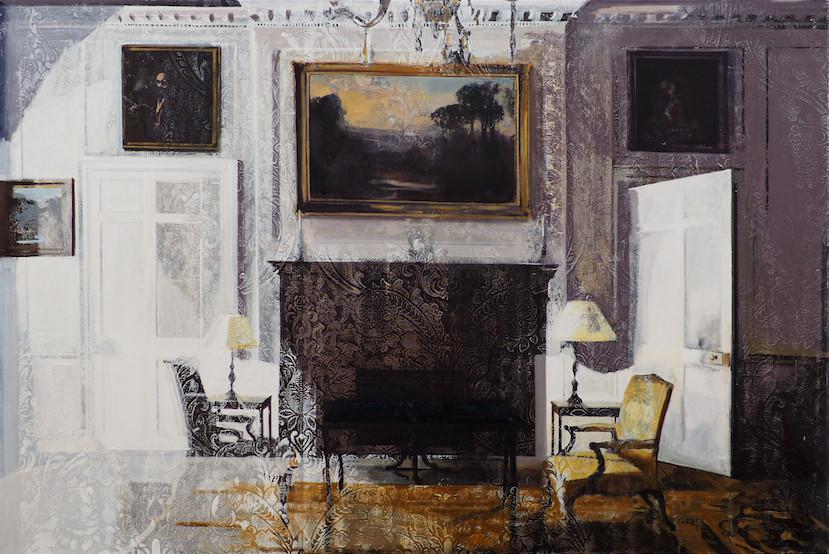Conversation oil on canvas, 150x100cm