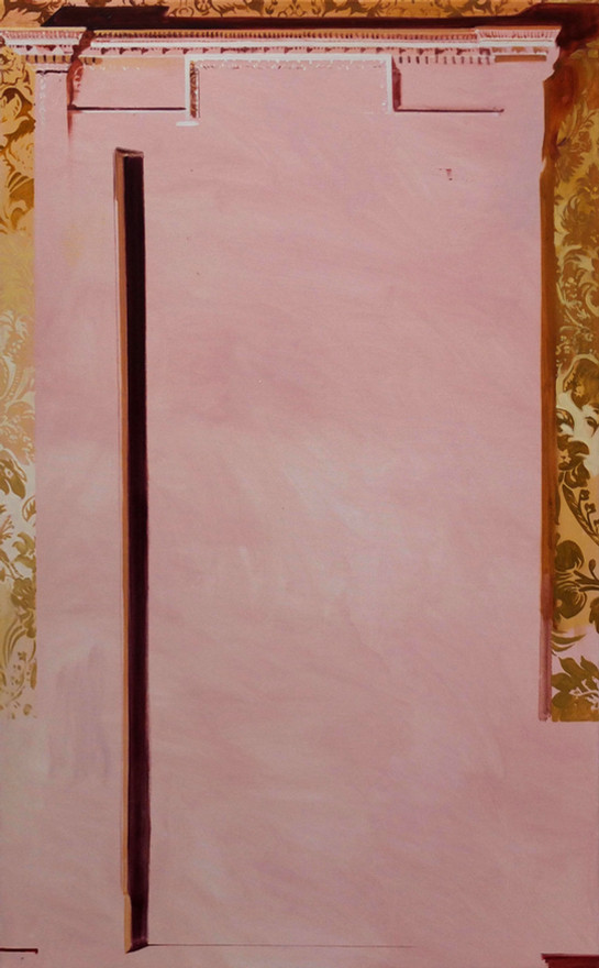 Doorway oil on canvas, 61x102cm