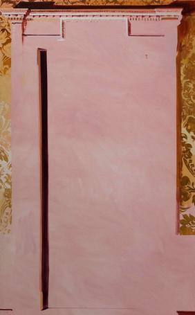 'Doorway', oil on canvas, 102x61cm, 2018