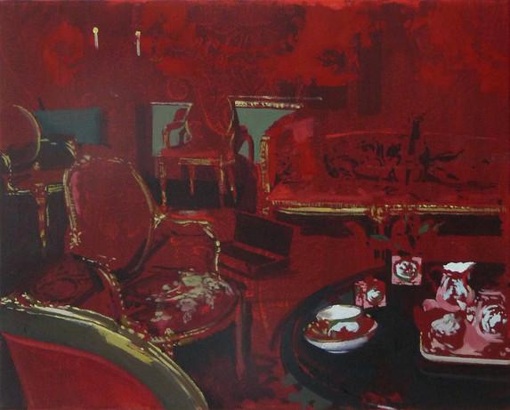 Tea oil on canvas, 52x40cm